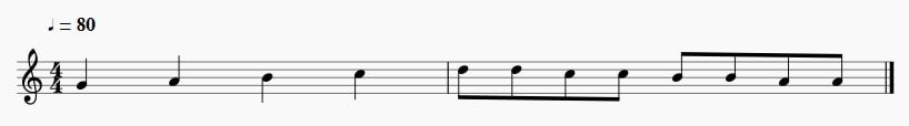 7 Note Values to Read Music [American and British names]