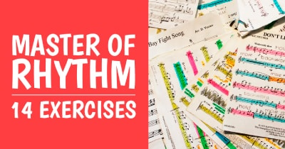 Learn Music with +14 Rhythm Examples [Triplets, Dotted Notes, Staccato and More]